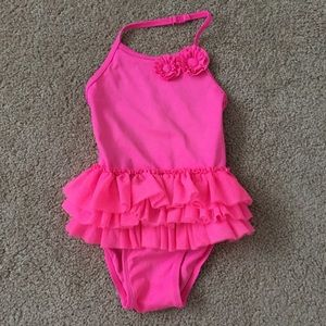 Hot Pink Swimsuit 2T
